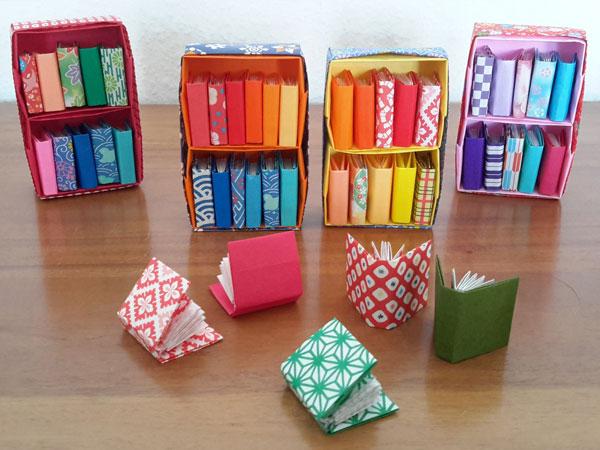 Origami Büchergestell