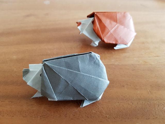 Igel Origami